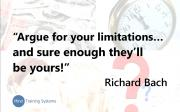 Are Your Decisions Limiting You? Part 1
